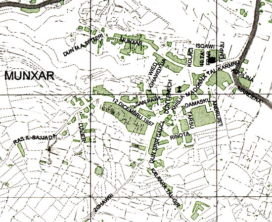 Munxar Map